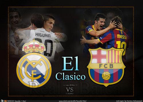 Real madrid vs fc barcelona el classico live