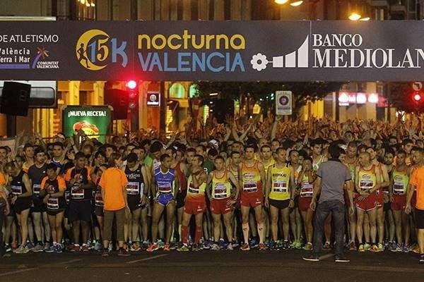 Spanien: Dieses Wochenende läuft Valencia in der Nacht