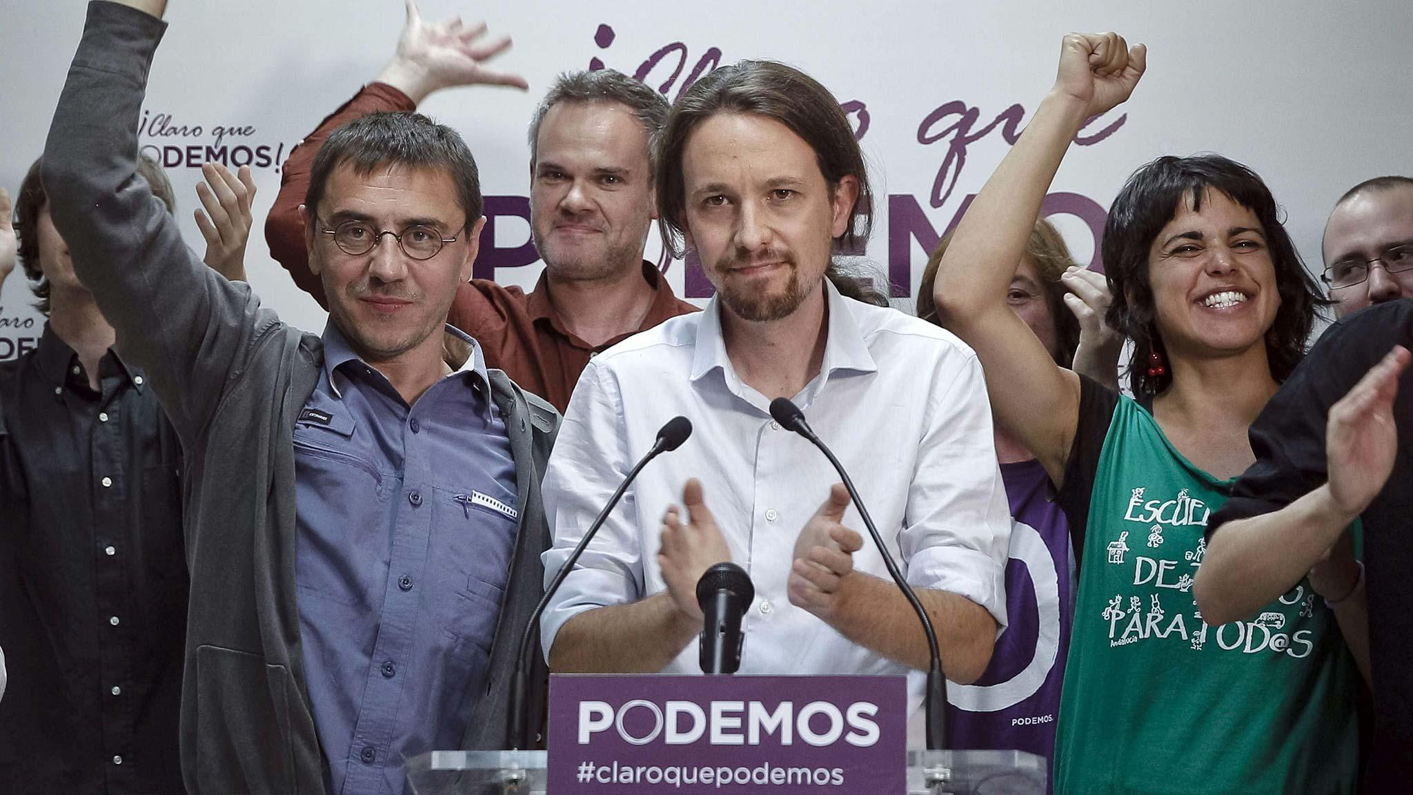Spanien: Linksgerichtete Podemos in Wahlumfrage vorn